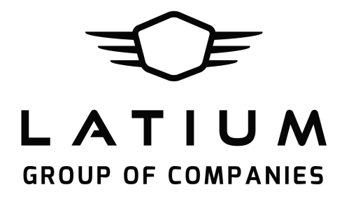 Latium Group Logo Black