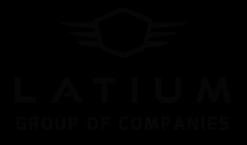 Latium Group Logo Black