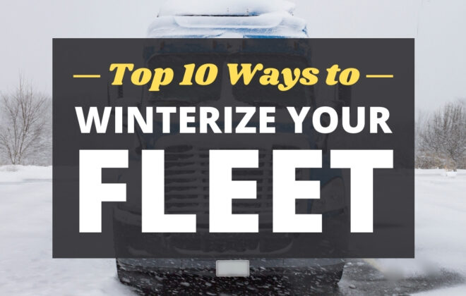 TOP 10 Ways to Winterize Your Fleet - Featured Image